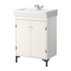 【IKEA/イケア/通販】「バスルーム・洗面台」 SILVERAN / HAMNVIKEN 洗面台 扉2枚, ホワイト, 60x45x91 cm (290.228.17) moblife