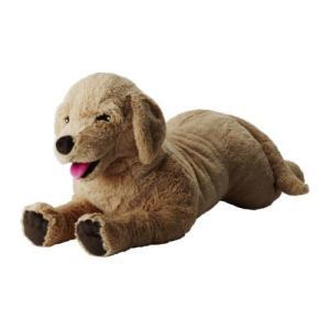 IKEA・イケア ぬいぐるみ・おもちゃ GOSIG GOLDEN ソフトトイ, イエロー, 70 cm (301.693.42) moblife