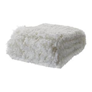 IKEA・イケア ひざ掛け 毛布 OFELIA BLAD ひざ掛け, ホワイト(301.730.04) moblife