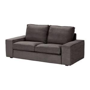 IKEA・イケア ソファ KIVIK 2人掛けソファ, トゥリンゲ グレーブラウン(398.847.59)|moblife