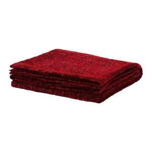 IKEA・イケア ひざ掛け 毛布 GURLI ひざ掛け, レッド, ピンク, 120x180 cm (402.049.05) moblife