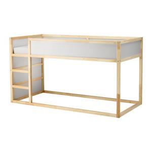 ロフトベッド IKEA・イケア ベッド ベッドフレーム, KURA リバーシブルベッド, ホワイト, パイン材 (402.538.11)|moblife