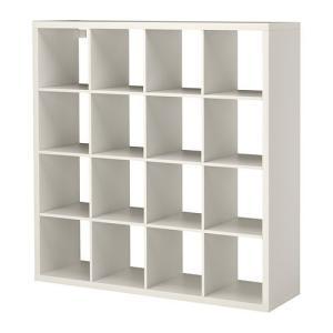 イケア・IKEA 書棚・本棚 KALLAX (カラックス)   シェルフユニット, ホワイト(603.518.82)|moblife