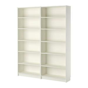 IKEA イケア 壁面収納家具 書棚 収納 本棚 BILLY  書棚 ホワイト(991.844.82)|moblife