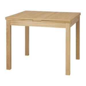 IKEA・イケア ダイニングテーブル・4〜6人用 BJURSTA(ビュースタ)    ダイニングテーブル, オーク材突き板(501.617.12 )|moblife