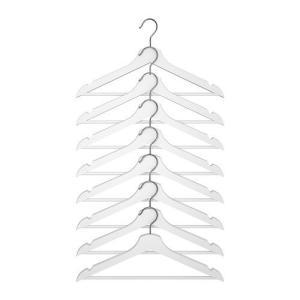 IKEA・イケア ハンガー BUMERANG ハンガー, ホワイト(502.385.42)