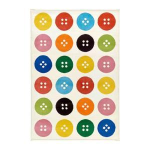 IKEA・イケア ラグ・リビングルーム TASTRUP ラグ パイル短, マルチカラー, 133x195 cm (502.517.41)|moblife