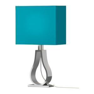 IKEA・イケア 照明・ランプ KLABBテーブルランプ, ターコイズ(502.687.32)|moblife