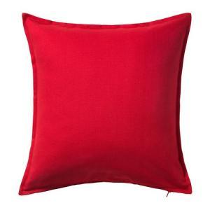 IKEA・イケア クッション GURLIクッションカバー, レッド(502.811.49)|moblife