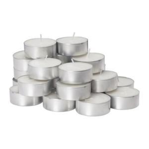 IKEA・イケア キャンドル・ろうそく  GLIMMA 香りなしキャンドル メタルカップ入り (601.761.19)|moblife