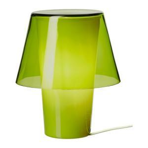IKEA・イケア 照明・ランプ GAVIK テーブルランプ, グリーン, フロストガラス(602.195.43)|moblife