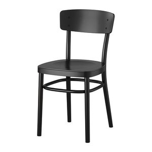 IKEA・イケア 椅子 チェア・ダイニングチェア IDOLF チェア, ブラック (602.251.67) moblife