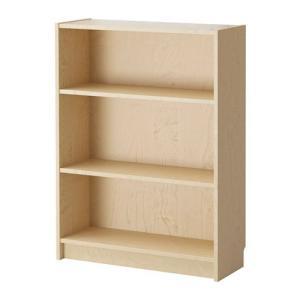 IKEA イケア 壁面収納家具 書棚 収納 本棚 BILLY 書棚 バーチ材突き板
