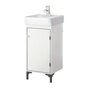 【IKEA/イケア/通販】「バスルーム・洗面台」 SILVERAN / HAMNVIKEN 洗面台 扉1枚, ホワイト, 40x45x91 cm (690.228.15) moblife