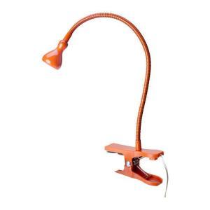 IKEA・イケア クリップライト 照明・ライト JANSJO LEDクリップ式スポットライト, オレンジ (702.372.59)|moblife