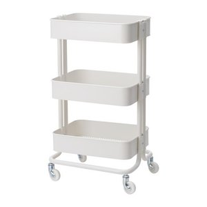 イケア IKEA キッチンワゴン RASKOG ロースコグ ベビー ホワイト