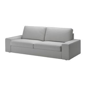 大人気 3人掛けソファ ソファ IKEA・イケア ソファ KIVIK 3人掛けソファ, オッルスタ ライトグレー, 180x85 cm|moblife