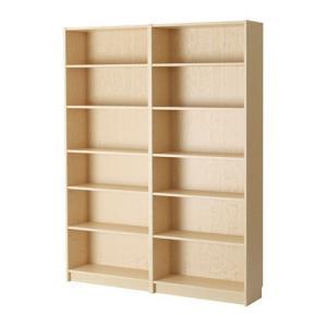 IKEA・イケア 書棚・本棚 BILLY (ビリー)  書棚, バーチ材突き板, 160x202x28 cm (790.234.14)