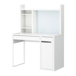 IKEA・イケア MICKE ワークステーション, ホワイト  (092.233.22)|moblife