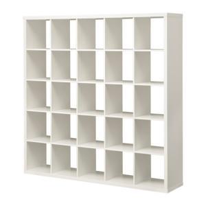 IKEA・イケア 書棚・本棚 KALLAX (カラックス)   シェルフユニット, ホワイト(103.535.86)|moblife