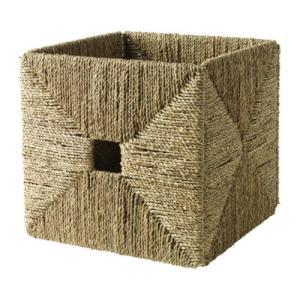 IKEA・イケア 収納ボックス・収納ケース KNIPSA バスケット, シーグラス(901.732.99 )|moblife