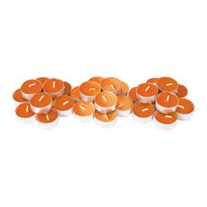 IKEA・イケア キャンドル・ろうそく  SINNLIG 香り付ティーライト, サンシャインオレンジ, オレンジ (902.377.10)|moblife
