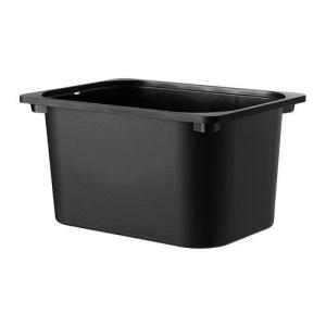 IKEA・イケア おもちゃ箱・おもちゃ入れ・子供収納 TROFAST(トロファスト) 収納ボックス, ブラック(902.525.74) moblife