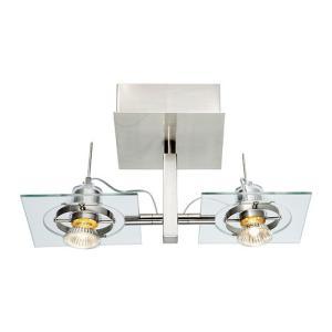 IKEA・イケア 照明・ランプ FUGAシーリング/ウォールランプ, クロムメッキ, クリアガラス(902.626.29)|moblife