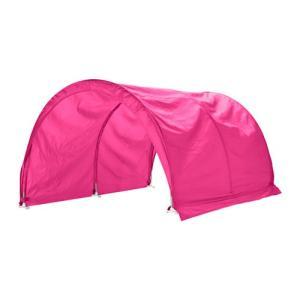 ロフトベッド IKEA・イケア ベッド  KURA ベッドテント, ピンク (903.112.29)|moblife