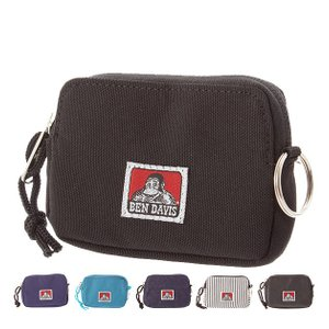 コインケース メンズ レディース ブランド おしゃれ 使いやすい 小銭入れ 財布 定期入れ パスケース L字ファスナー BEN DAVIS ベンデイビス カード キッズ 子供|moccasin