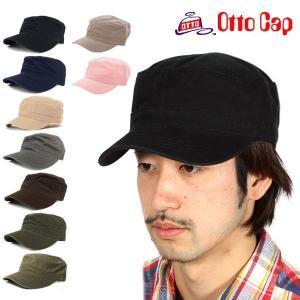ワークキャップ メンズ otto オット 帽子 夏用 冬 定番|moccasin