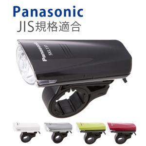 自転車 ライト LED 自転車ライト 防滴 LEDライト 電池式 パナソニック Panasonic スポーツライト サイクルライト 安全対策 乾電池 ヘッドライト フロントライト moccasin
