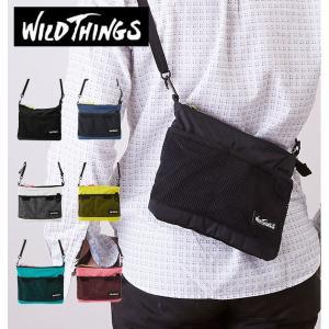 サコッシュ WILD THINGS ワイルドシングス  通販 サコッシュバッグ メンズ レディース ...