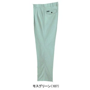 199 スラックス (2タック) モスグリーン 73〜110 (SOWA)|mocchi