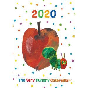 幅広い層に人気の絵本「はらぺこあおむし」から2020年版スケジュール帳が今年も登場です!サイズは2種...