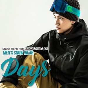 スノーボードウェア メンズ スキーウェア スノボウェア 上下セット ジャケット パンツ SECRET GARDEN DAYS 2017-2018 新作|mocomocotown