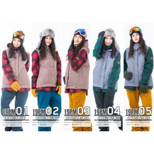 スノーボードウェア レディース スキーウェア スノボウェア 上下セット ジャケット パンツ SECRET GARDEN PLAYMORE 2017-2018 新作|mocomocotown|02