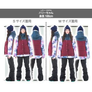 スノーボードウェア レディース スキーウェア スノボウェア 上下セット ジャケット パンツ SECRET GARDEN PLAYMORE 2018-2019 新作|mocomocotown|12
