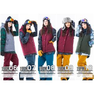 スノーボードウェア レディース スキーウェア スノボウェア 上下セット ジャケット パンツ SECRET GARDEN PLAYMORE 2017-2018 新作|mocomocotown|03