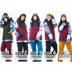 スノーボードウェア レディース スキーウェア スノボウェア 上下セット ジャケット パンツ SECRET GARDEN PLAYMORE 2017-2018 新作|mocomocotown|04