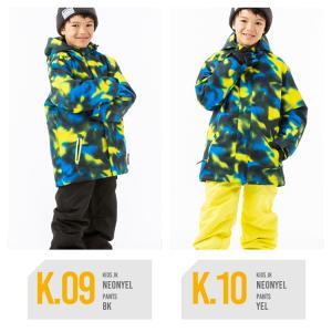 スキーウェア キッズ ジュニア スノーウェア 子供用 男の子 女の子 サイズ調整  スノボウェア 上下セット SECRET GARDEN 17-18 送料無料|mocomocotown|07