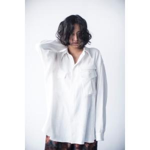 hs20SSIR03  ワイドシャツA ホワイト ヒュリス|mocosh