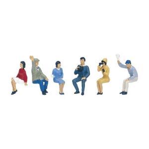 KATO HOゲージ 座っている人 3 6-508 ジオラマ用品|mocotto