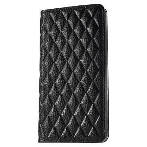 iPhone 7 ケース 手帳型ケース  セナ / ブラック modaMania モーダマニア 高級イタリアンレザー