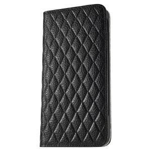 iPhone 7 Plus ケース 手帳型ケース セナ / ブラック modaMania モーダマニア 高級イタリアンレザー