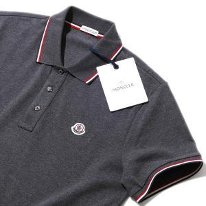 モンクレール 鹿の子 ポロシャツ8305500 988チャコ...