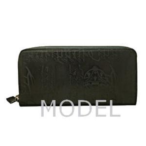 ベルルッティ Berluti 財布 サイフ さいふ メンズ 財布 カリグラフィ 長財布|model|03