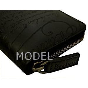 ベルルッティ Berluti 財布 サイフ さいふ メンズ 財布 カリグラフィ 長財布|model|04