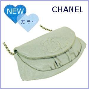 シャネル CHANEL バッグ 財布 チェーンウォレット チェーンバッグ ハーフムーン A40033|model