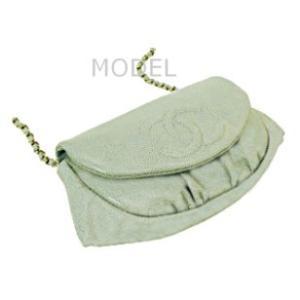 シャネル CHANEL バッグ 財布 チェーンウォレット チェーンバッグ ハーフムーン A40033|model|02